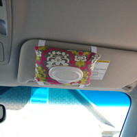 Car Visor Wipes Case - Travel Wipes Holder