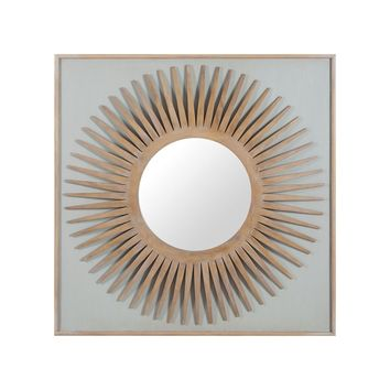 Manor Starburst Mirror Artisan Dark Stain