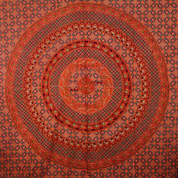 Mandala Tapestry, Hippie Tapesrtries, Wall Hanging, Gift Items, Beach Cover, Indian Ethnic Decor Tapestry