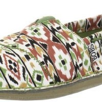 BOBS from Skechers Women's Chill Outdoor Enthusiast Flat,Green/Brown,7.5 M US