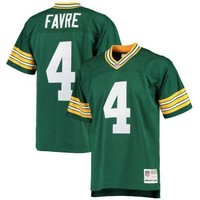 PEAPYD9 Brett Favre Jerseys NFL Green Bay Mitchell & Ness Player Football Jersey - Green
