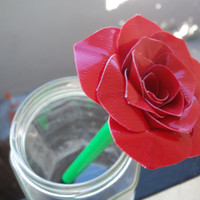 Duct Tape Rose Pen- Solid Color