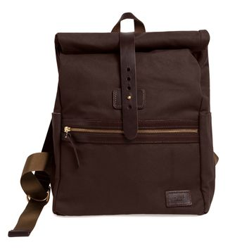 Bourbon Rolltop Backpack