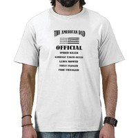 Official Jobs of The American Dad T-shirts from