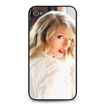 Taylor Swift In White iPhone 4 | 4S Case