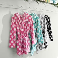 Plush Dot Robe