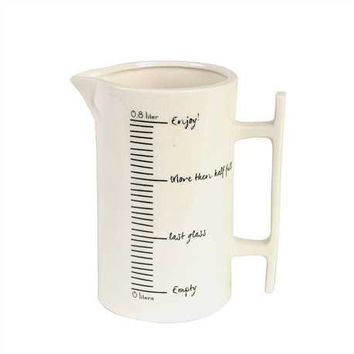 Ceramic Measuring Pitcher