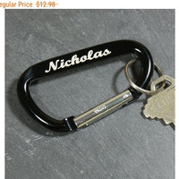 Personalized Carabiner Key Chain