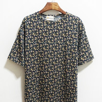 Floral Inspired Short Sleeve Shirt