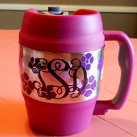 Personalized Monogram Bubba Keg
