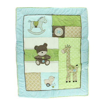 Kids Line Plush Baby Boy Nap Mat