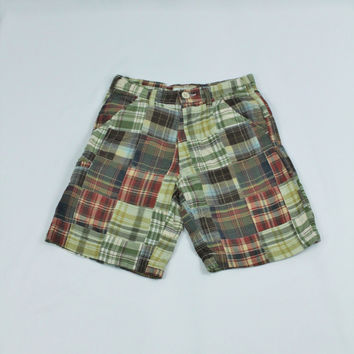 Arizona Madras Plaid Shorts, size 8