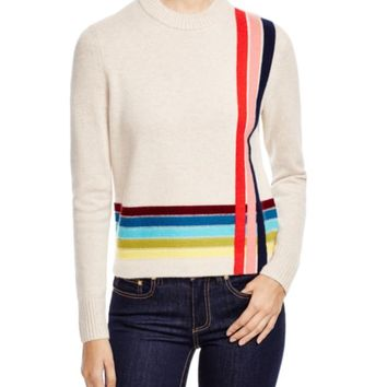 Tory Burch Cashmere Stripe Sweater | Bloomingdales's