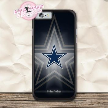 Dallas Cowboys Football Team Case For iPhone X 8 7 6 6s Plus 5 5s SE 5c 4 4s For iPod Touch