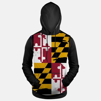 Maryland Beast State Flag Hoodie (Ships in 2 Weeks)