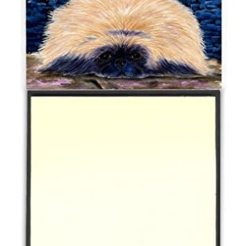 "Caroline's Treasures Starry Night Pekingese Refillable Sticky Note Holder or Postit Note Dispenser, 3.25 by 5.5"", Multicolor"