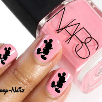 Mickey Mouse Nail Art Transfer Set of 20 Disney