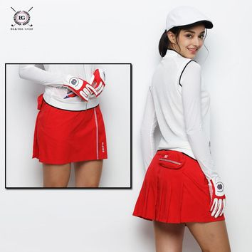 Women's Skirt Aerobics  Golf Tennis Skort Culottes Cheerleading Performances Dance Clothes Sport Shorts Skirts for Girls