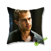 Theo James Four Divergen Square Pillow Cover