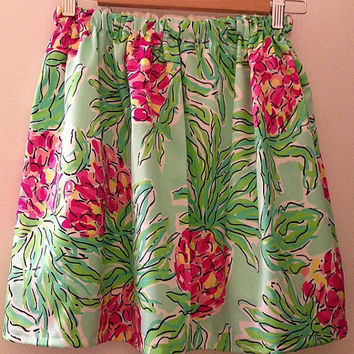 Lilly Pulitzer SPIKE THE PUNCH Cissy Skirt Preppy Sorority