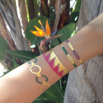 Love Temporary Jewelry Tattoos (includes 4 sheets with 4 styles)
