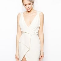VLabel London Carnaby Dress With Wrap Detail Skirt