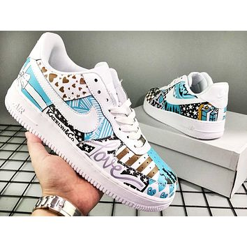 Nike Air Force fashion sells doodle men's sportswear shoes #4