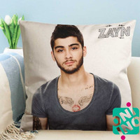 Zayn Malik 2015 Zippered Pillow Case, Cushion Case, Pillow case