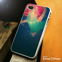 Beautiful Mermaid iPhone 4 5 5c 6 Plus Case, Samsung Galaxy S3 S4 S5 Note 3 4 Case, iPod 4 5 Case, HtC One M7 M8 and Nexus Case