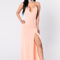 Fashion Affair Dress - Blush
