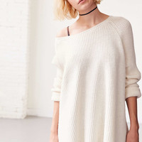 BDG Cloud Stitch Wide-Neck Sweater - Urban Outfitters