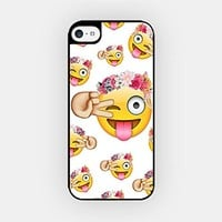 for iPhone 6/6S - High Quality TPU Plastic Case - Happy Emoji - Smiley - Emoticon