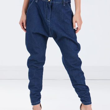 Drop The Beat Zippered Boyfriend Jeans GoJane.com