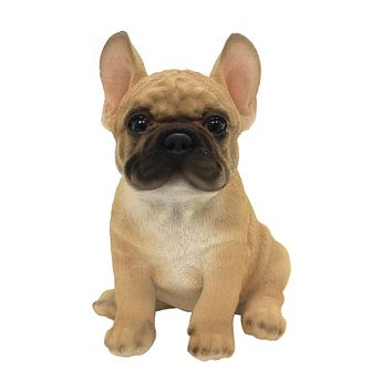 Animal FRENCH BULLDOG PUPPY Polyresin Canine Dog 12463