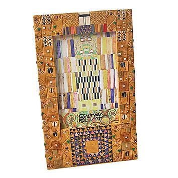 Klimt Geometric Design Art Nouveau Pattern 4 x 6 Photo Frame 9H