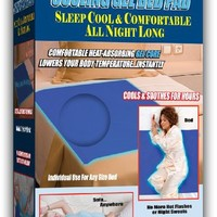 """Cooling Gel Bed Pad, 36"""" x 31"""""""