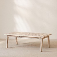 Caroline Washed Wood Coffee Table | Urban Outfitters