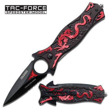 Spring Assist - Red Dragon Knife - Spear & Spike Tactical