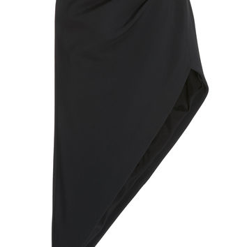 Ruched Crystal Pencil Skirt | Moda Operandi