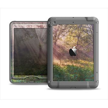 The Pink Sun Ray Meadow Apple iPad Mini LifeProof Nuud Case Skin Set