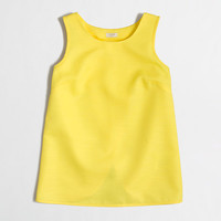 FACTORY CROSSED-BACK JACQUARD TANK TOP