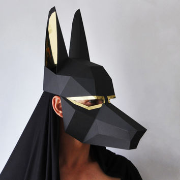 ANUBIS papercraft DIY mask