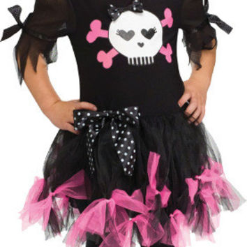 Toddler Girl's Costume: Sally Skully | 3T-4T