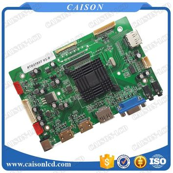 HDMI+VGA+DP 4K LCD controller board support DP loop out* +Single channel 4 Lane eDP +Dual channel 4 Lane eDP+8 Lane V-by-one