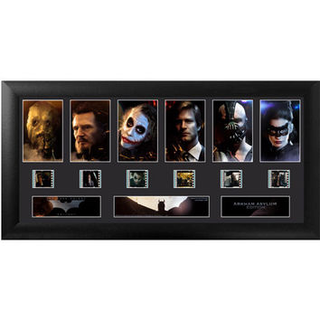 Batman Dark Knight Trilogy Rogues Deluxe Framed Film Cell