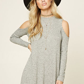 High-quality Womens Strapless Long Sleeve Knit Dress Sweater Gift-68