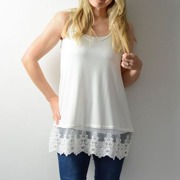 Lace Extender Tank