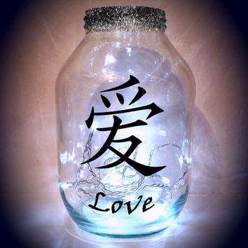 Chinese Lantern, Hand painted, candle holder, night light....MADE TO ORDER.