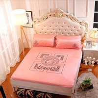 Versace Collapsible - Ice mat - Three-piece - Single bed - Double bed Pink B-AA#-CBJF