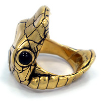 """Venom"" Ring by Han Cholo (Gold Tone)"